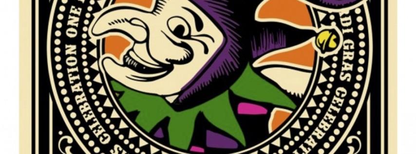 Fat Tuesday Mardi Gras Party sponsored by Jack Daniel's