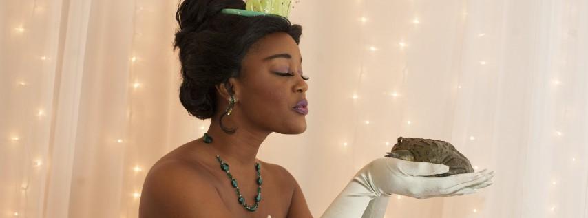 Royal Tea with the Frog Princess