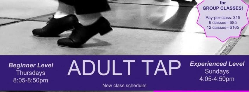 Adult Tap Beginner Level