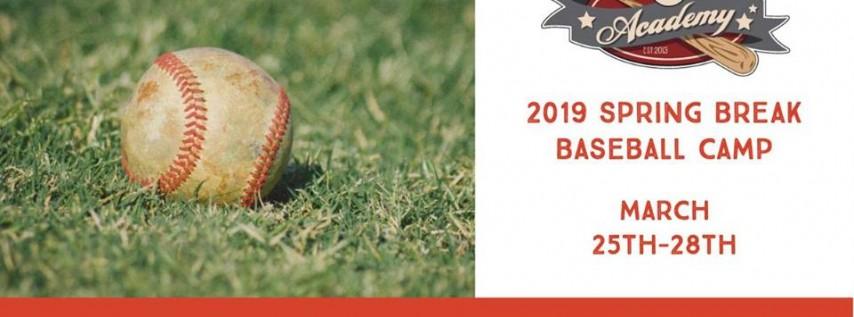 2019 Spring Break Baseball Camp