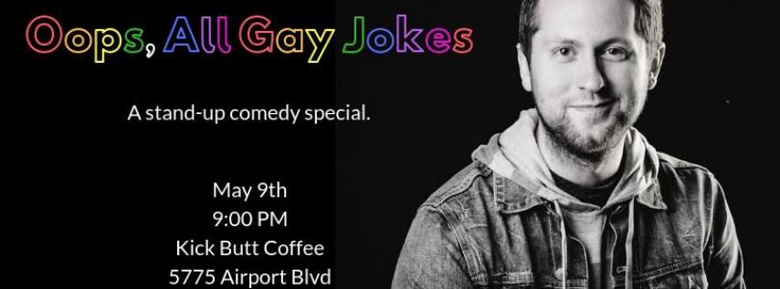 Ky Krebs - Oops, All Gay Jokes (w/ Holli Cuomo)