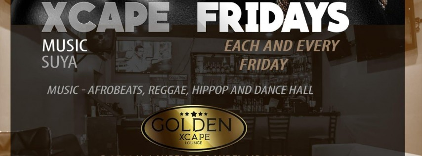 Xscape Friday - All New Afro-Caribbean Nights in the Laurel Area