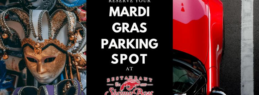 Mardi Gras event parking