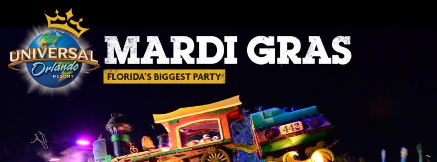 Mardi Gras 2019 Universal Studios Orlando
