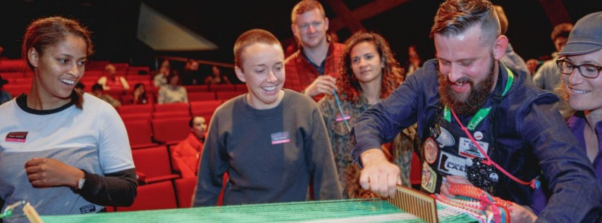 Backstrap Loom Weaving Workshop with Steven Frost