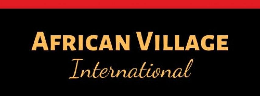 African Village Bazaar!