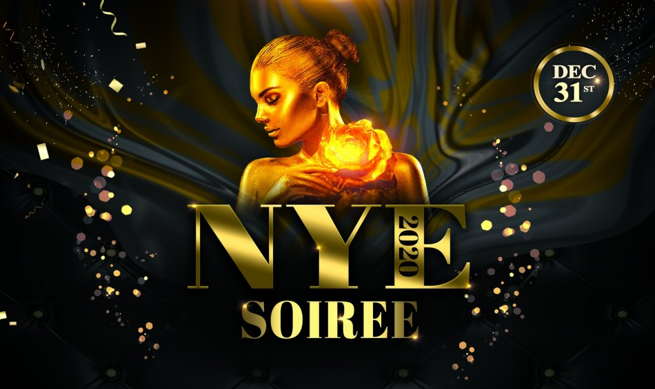 NYE Soirée 2020 (Modern Event Space)