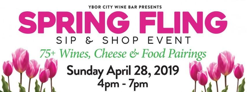 Ybor City Wine Bar: 2019 Spring Fling - Sip & Shop Event