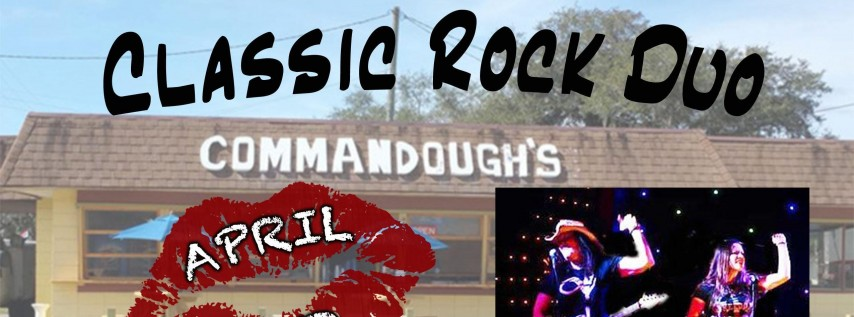 April Red is Back to ROCK Commandough's Pizza in Zephyrhills!