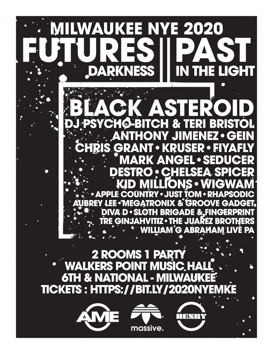 New Years Eve 2020 Party: FUTURES PAST - DARKNESS IN THE LIGHT