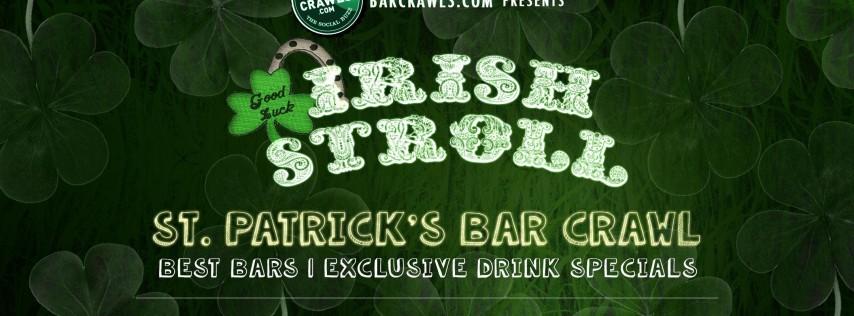 BarCrawls.com Presents Denver St. Patrick's Day Bar Crawl Irish Stroll