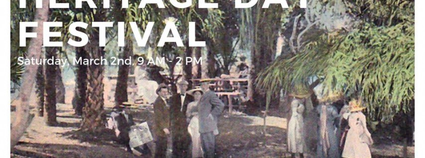 Annual Heritage Day Festival and Settler's Market