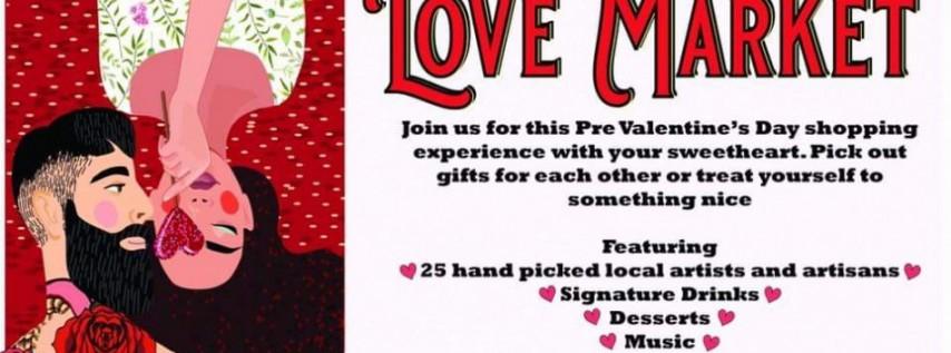 The Love Market at the Brick
