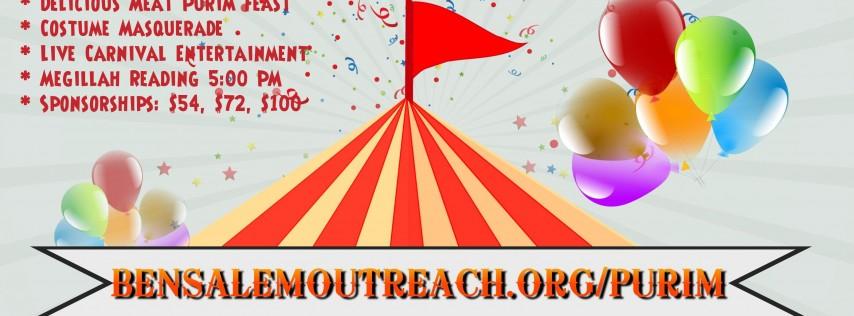 Purim Circus Carnival