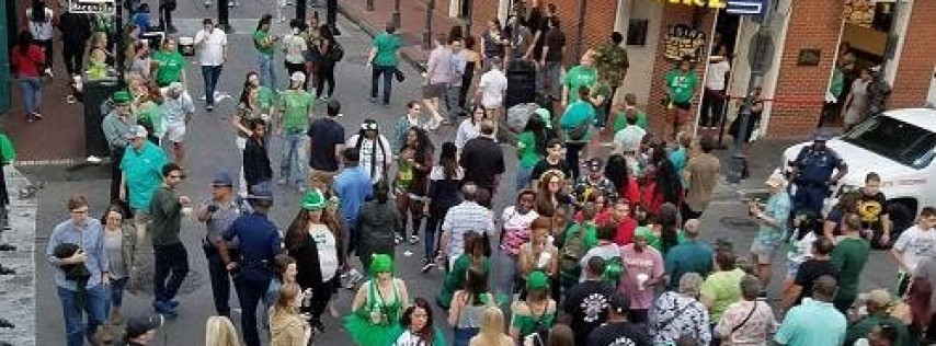 St. Patricks Parade Viewing Balcony Tickets on Bourbon Street