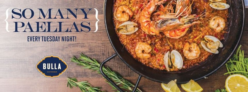 Paella Tuesdays