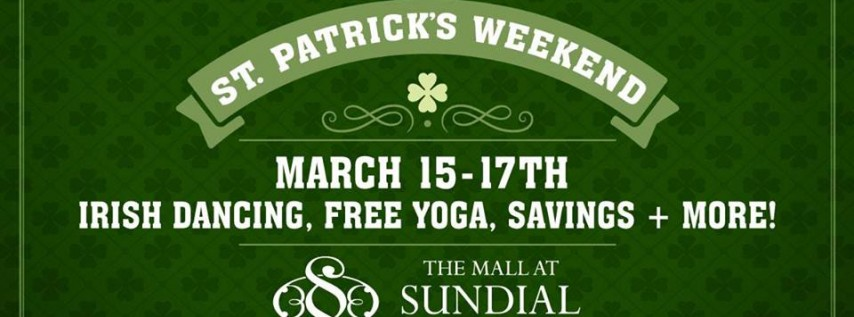 St. Patrick's Weekend x Sundial St. Pete