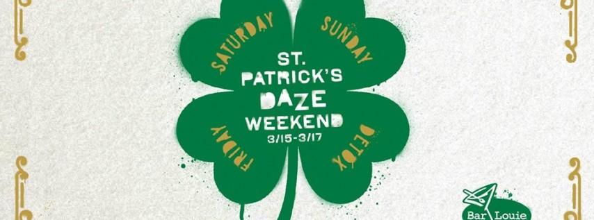 Bar Louie Power & Light District Saint Patrick's Daze Weekend