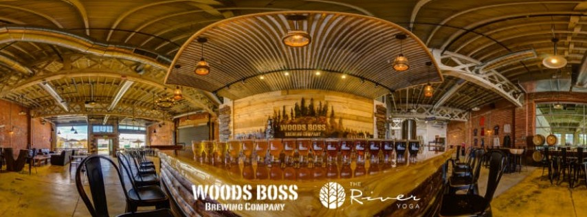 The River Yoga at Woods Boss Brewing Co.