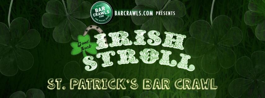 BarCrawls.com Indianapolis St. Patrick's Day Bar Crawl Irish Stroll