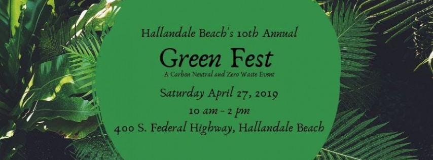 10th Annual Hallandale Beach Green Fest