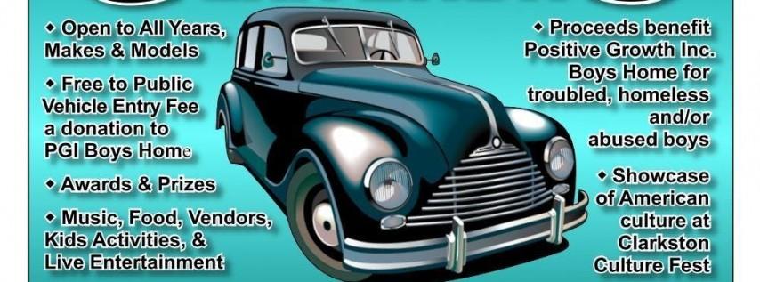 2019 Classic Car Show at Clarkston Culture Fest