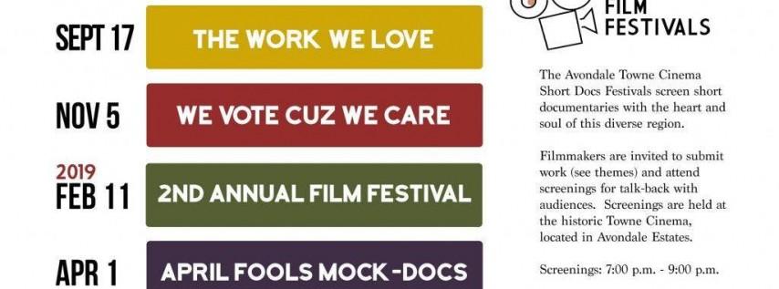Avondale Towne Cinema Short Docs Film Festival