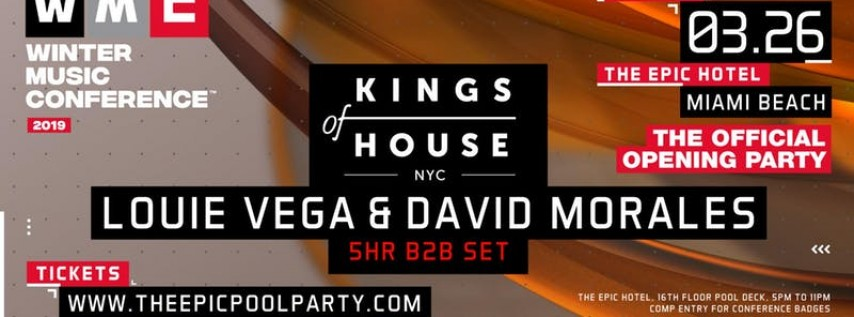 WMC Official Opening Party - Louie Vega & David Morales