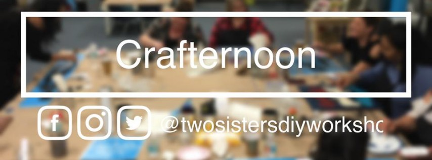 Crafternoon DIY Workshop - BYO Crafts