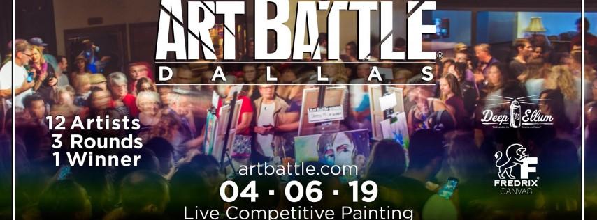 Art Battle Dallas - April 6, 2019