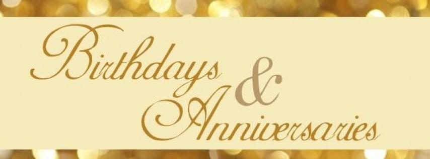 Birthday, Anniversary & Karaoke Night!