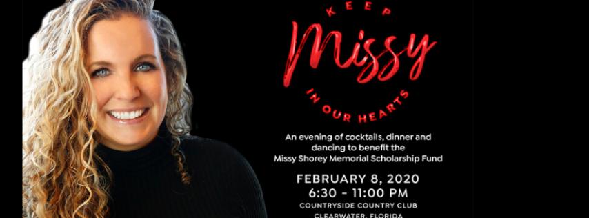 Fundraiser for the Missy Shorey Memorial Scholarship Fund