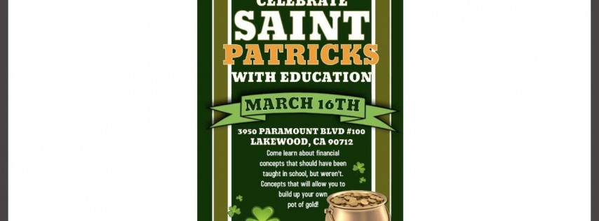 St Patrick's Pot Of Gold
