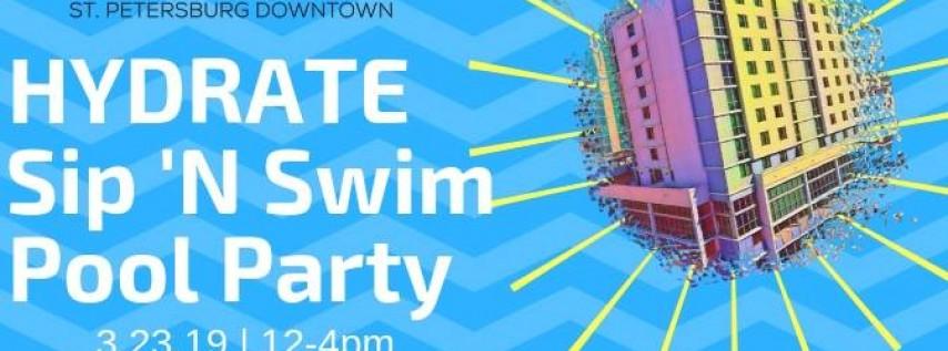 HYdrate Sip 'N Swim Pool Party