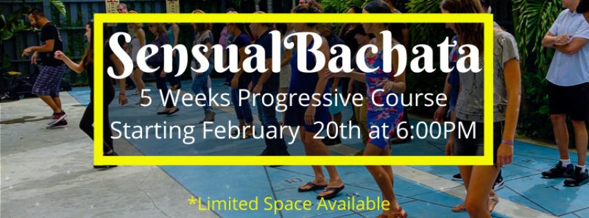Sensual Bachata - Level One (5 Weeks Progressive Course)
