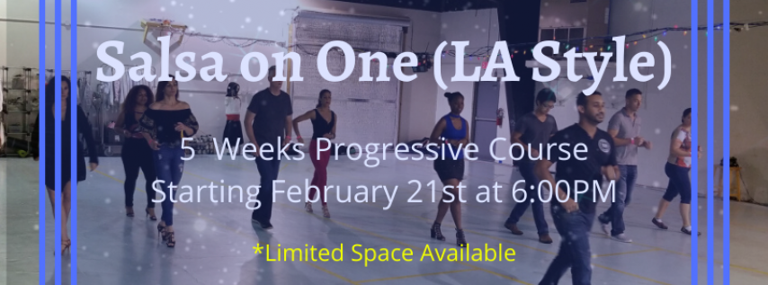 Salsa on One - Level 1 (5 Weeks Progressive Course)