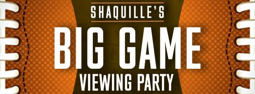 Shaquille's Big Game 2020 Viewing Party