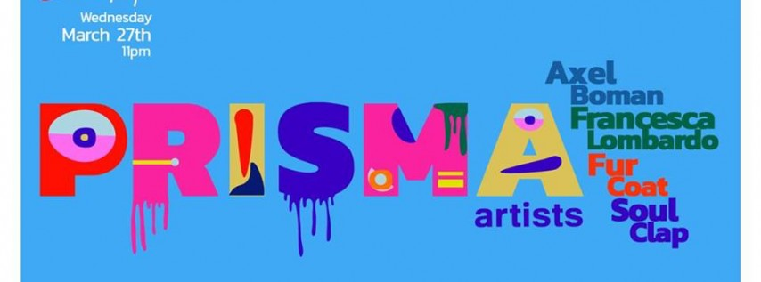 PRISMA Artists MMW Showcase by Link Miami Rebels