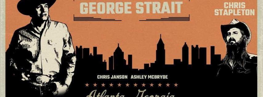 George Strait in Atlanta
