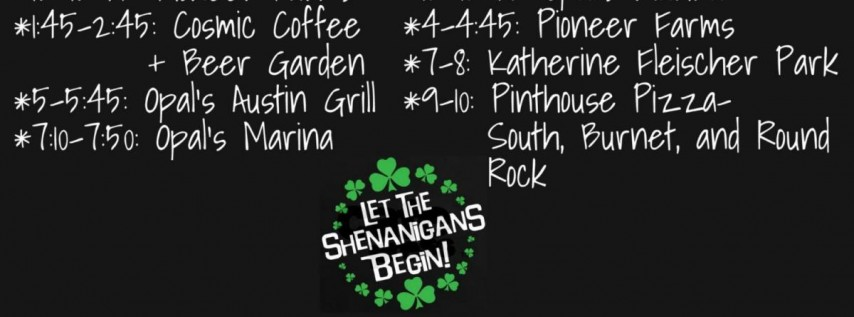 STPD St. Patrick's Day Shenanigans 2019!
