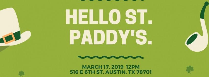 Bye Bye SXSW. Hello St. Paddy's.