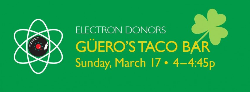 SXSW, St. Patrick's Day, Tacos, Margs