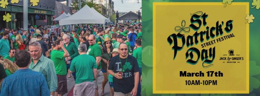 Jack & Ginger's St. Patrick's Day Street Festival