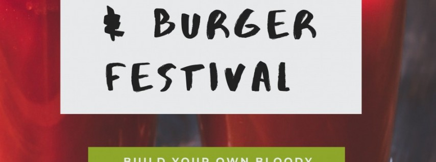 Bloody Mary & Burger Festival 2020