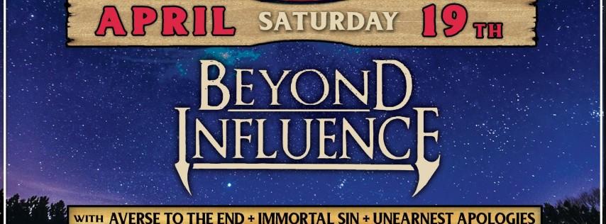 Beyond Influence at Moe's Original BBQ Englewood