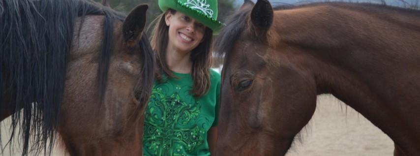 St. Patrick's Day Celebration with Horses