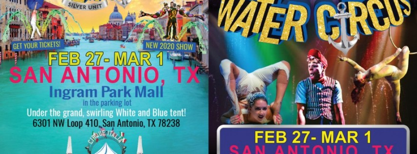 Cirque Italia Presents: 1st Water Circus Silver at Ingram Park Mall