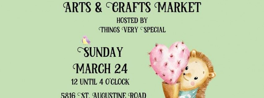 Arts and Crafts March Market