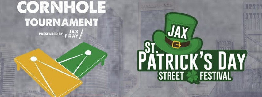 Cornhole Tournament at The Jacksonville St Patrick's Day Street Festival