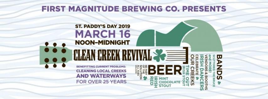 2019 St. Patrick's Day & Clean Creek Revival!